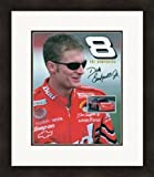 Autographed Dale Earnhardt Jr. Picture - 8x10 Racing The Dominator #8 facsimile Framed & Matted - Autographed Photos