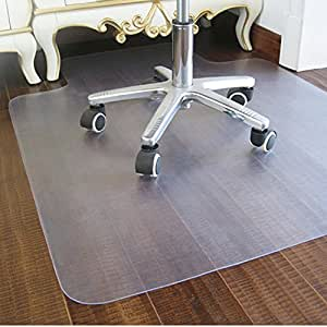 Amazon Com Office Hard Floor Chair Mats For Rolling