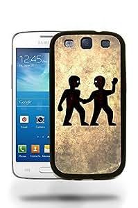 Gemini Zodiac Star Sign Vintage Phone Case Cover Designs for Samsung Galaxy S3 Kimberly Kurzendoerfer