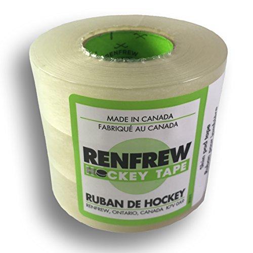 Renfrew Clear Polyflex Shin Sock Hockey Tape, 3 Rolls (1