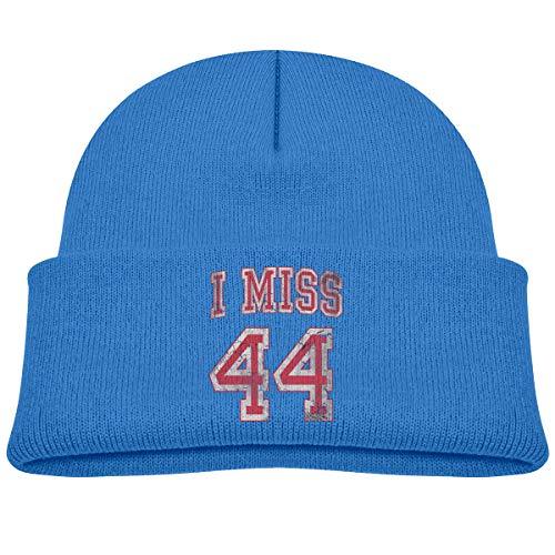 - Children's Knitted Hat I Miss 44 Barack Obama Boy Girl Cap Blue