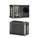 MightySkins Skin For GoPro HD Hero2 – Carbon Fiber | Protective - Durable - and Unique Vinyl Decal wrap cover | Easy To Apply - Remove - and Change Styles | Made in the USA