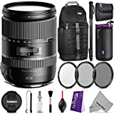 Tamron AFA010C700 28-300mm f 3.5-6.3 Di VC PZD Zoom Lens for CANON EF Digital SLR Cameras w Essential Photo and Travel Bundle