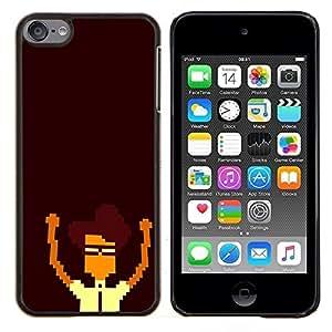 EJOOY---Cubierta de la caja de protección para la piel dura ** Apple iPod Touch 6 6th Touch6 ** --Nerd Pixel