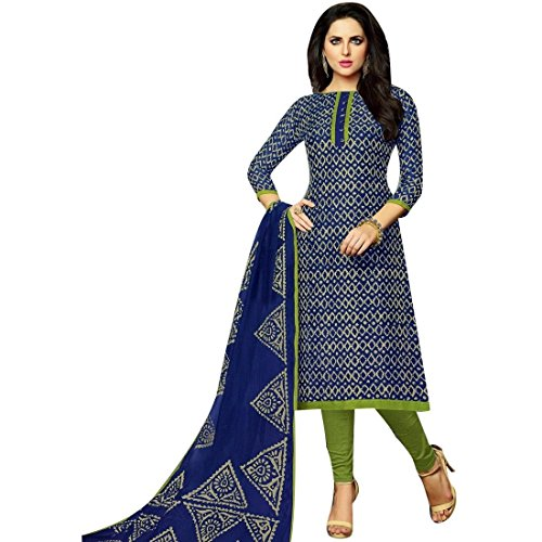 Indian Cotton Salwar Kameez - 9
