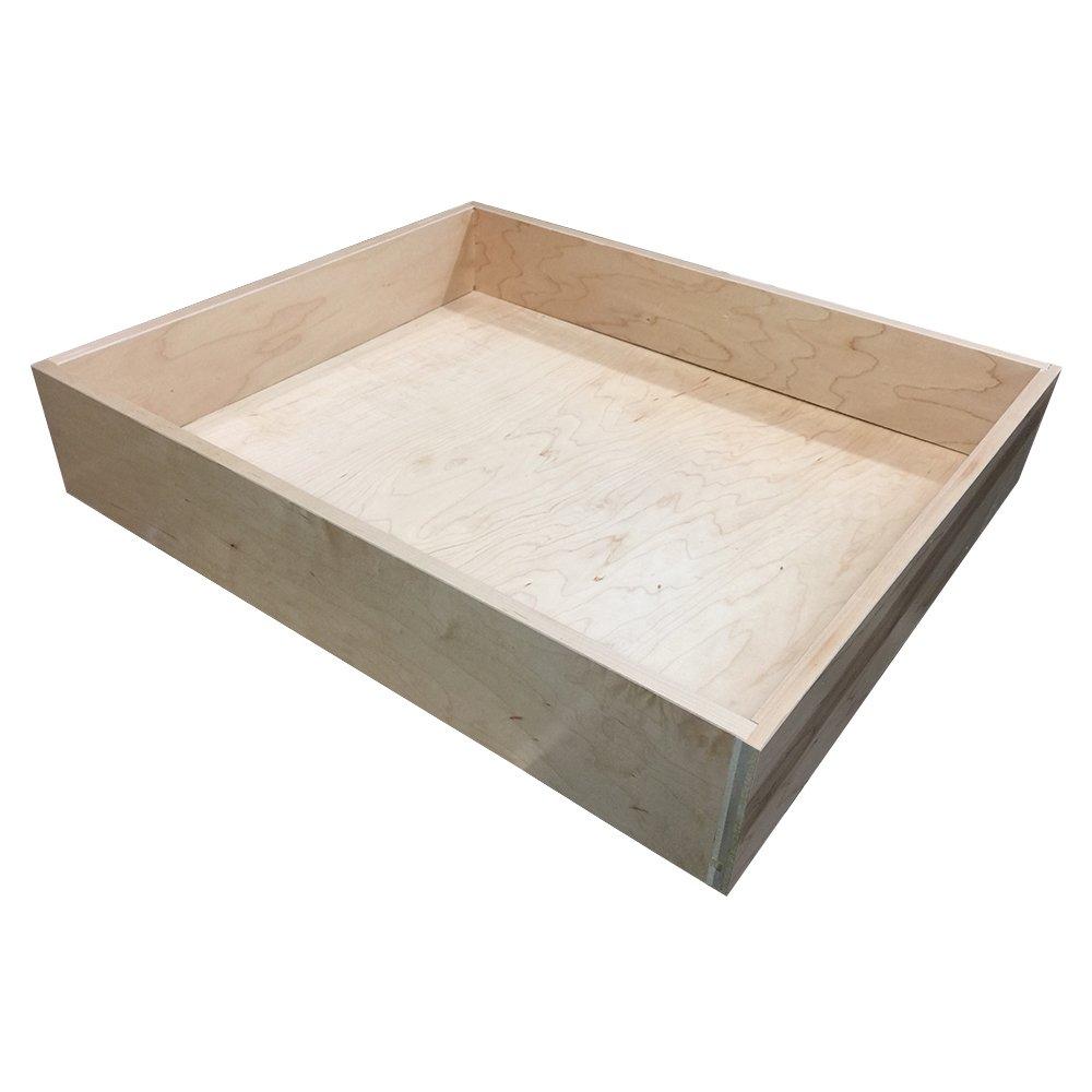 1/2'' Baltic Birch Plywood Drawer Box, 23-1/2'' width x 16''depth x 4'' height - MD8