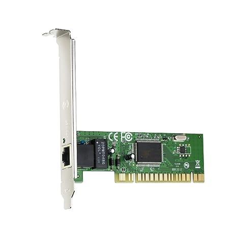 Tenda L8139D Interno Ethernet 100Mbit/s Adaptador y Tarjeta de Red - Accesorio de Red (Interno, Alámbrico, PCI, Ethernet, 100 Mbit/s, Plata)