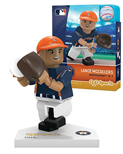 MLB Houston Astros Lance McCullers Generation 5 Minifigure, Small, Black