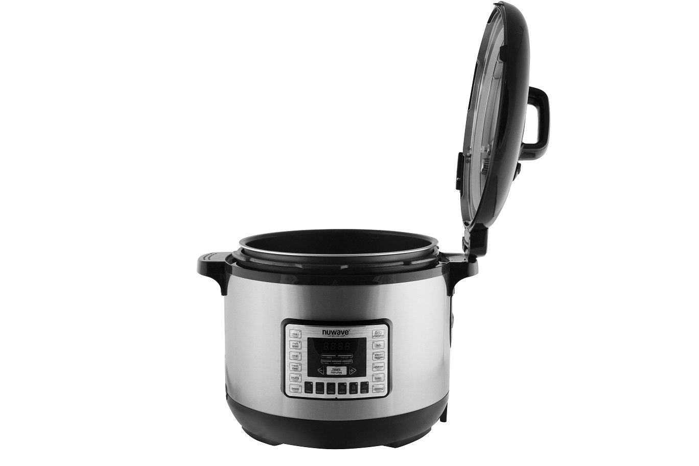 NuWave 33501 13 quart Electric Pressure Cooker, Stainless Steel, One Size