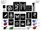 G Body Art Glitter Tattoo Cherry Blossom Kit