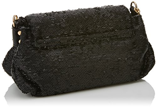 Lola Casademunt Ayleen - Borse Baguette Donna, Negro (Black), 19x27x36 cm (W x H L)