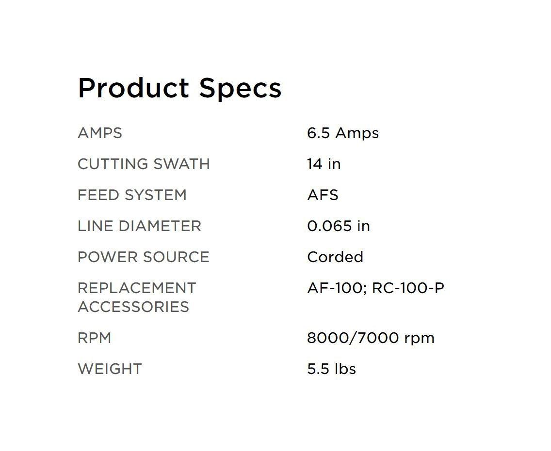 BLACK + DECKER GH900 14-Inch String Trimmer and Edger, 6.5 Amp