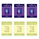 Essence Sheet Mask Aritaum Mulgwang Collagen Brightening Essence Face Facial Mask Package 6pcs - Enlarged Living Nature Grind Compressed Sheet Mask by DCKR