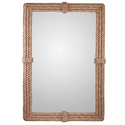 Kenroy Home 60206 Rudy Wall Mirror, Natural -