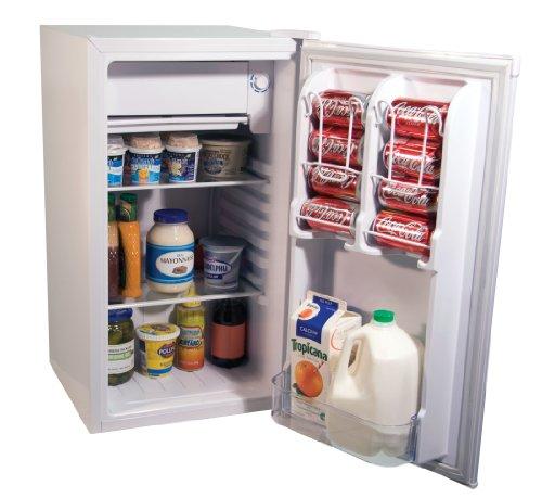 Haier HNSE032 3.2 Cubic Feet Refrigerator/Freezer, White