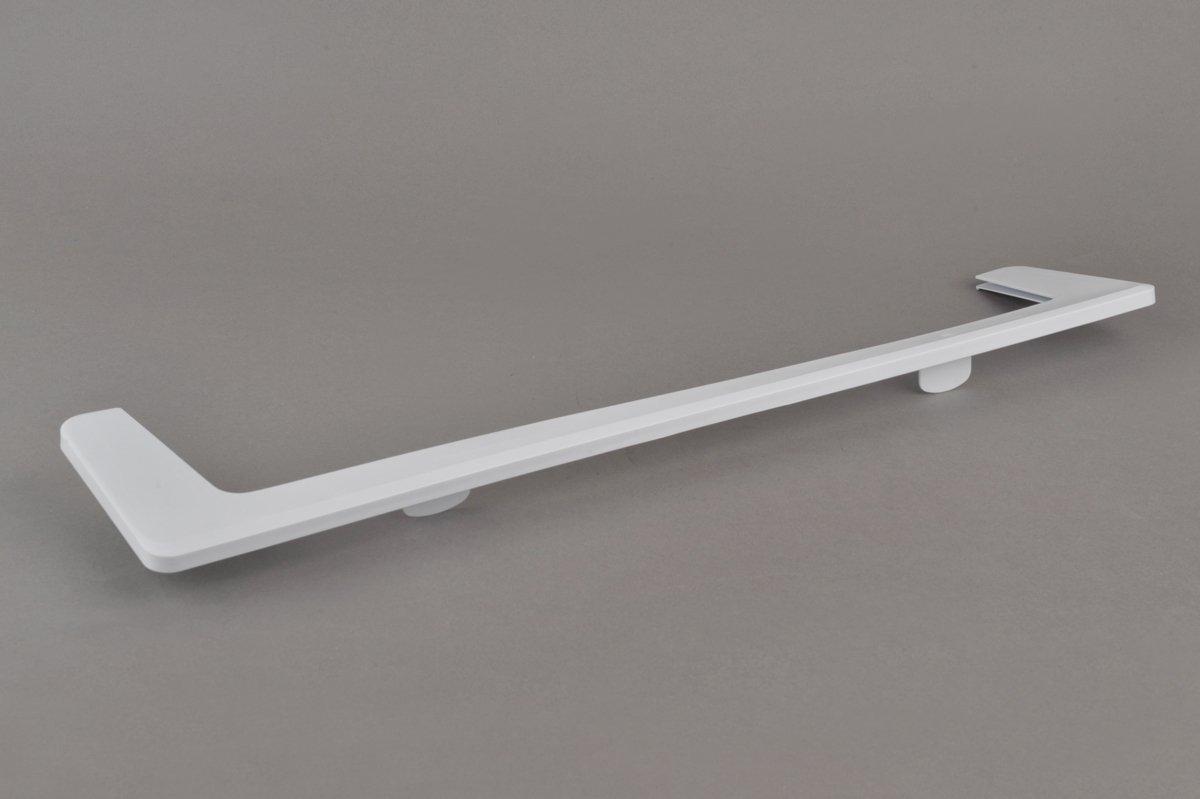 Inferior Delantero Marco Soporte de Placa Estante de Vidrio para Frigor/ífico Refrigerador L=50.5cm INDESIT