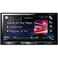PIONEER AVH-X4800BS 7 Double-DIN In-Dash DVD Receiver with Motorized Display, Bluetooth(R) & SiriusXM(R) Ready