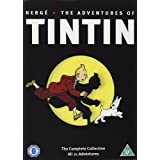 The Adventures of Tintin - Complete Collection - 5-DVD Box Set