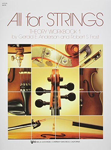 (All for Strings Theory Workbook 1 Violin by Robert Frost)