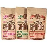 """The Plan"" Friendly Three Pack Flax-Granola"