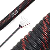 PSKOOK 550 Paracord Type III 10 Strand Core para Cord Tactical Parachute Rope