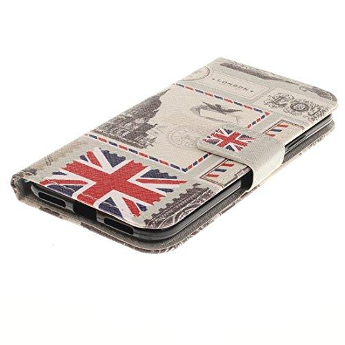 GR iPhone 8 Cover Case-Tiger Muster Horizontal Flip Ledertasche mit Halter & Kartensteckplätze & Portemonnaie, kleine Menge empfohlen, bevor Samsung iPhone 8 Launching ( Size : Ip8g8875e )