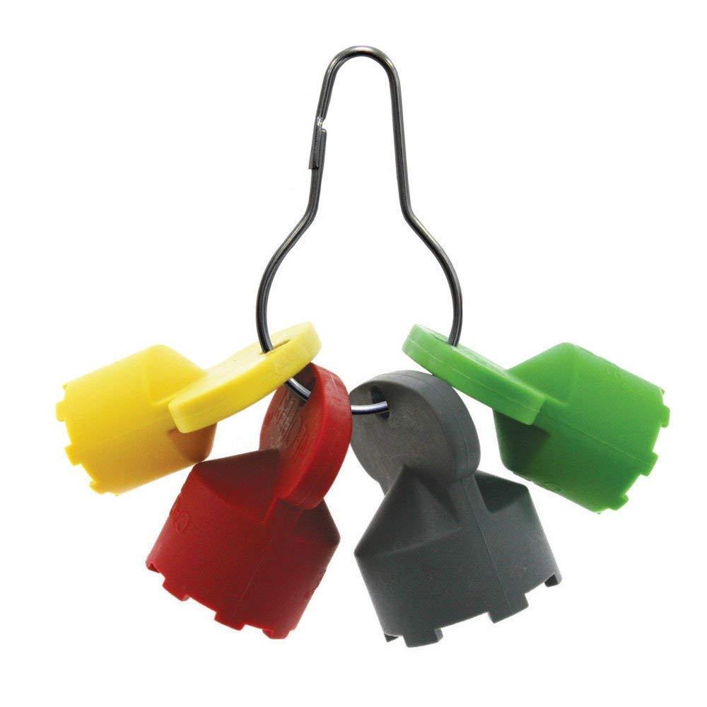 Neoperl 1191705 Cache STD JR TT Tom Thumb TJ Water Aerator Key Wrench | 4 Durable Keys for Hidden Aerators
