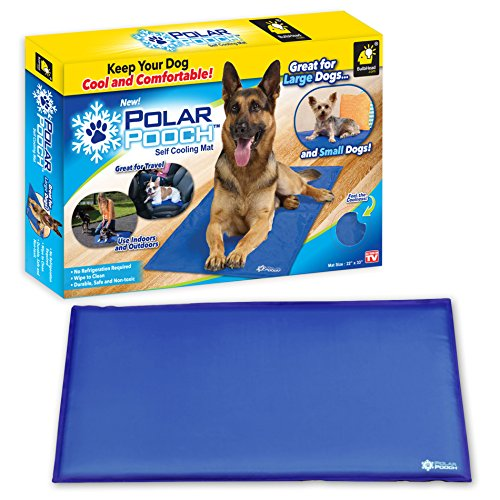 Limited Mat Body (Polar Pooch Smart Cooling Mat by BulbHead for Dogs To Help Regulate Body Temperature.)