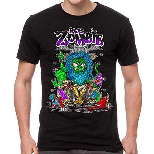 - GLOBAL Rob Zombie Men's Bapho Censored T-Shirt M
