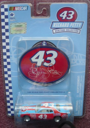 - Richard Petty Heritage Collection 1:64 Scale 1976 Dodge Charger