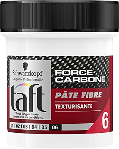 Taft Pate Fibre Texturisant Force Carbone Pot de 130 ml 2135460