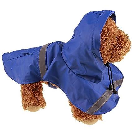 Perros Ropa, Sannysis Perro Mascota Impermeable Ropa Al Aire Libre Impermeable con Capucha Capa de