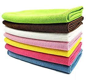 Microfiber Cleaning Cloth, Pack of 10
