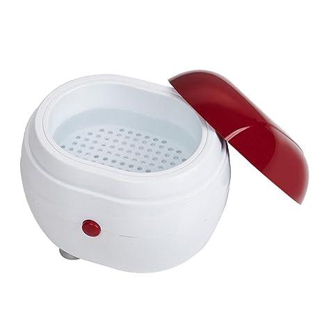 Limpiador de joyas KOBWA Limpiador ultrasónico Mini máquina de limpieza para la limpieza de joyas relojes