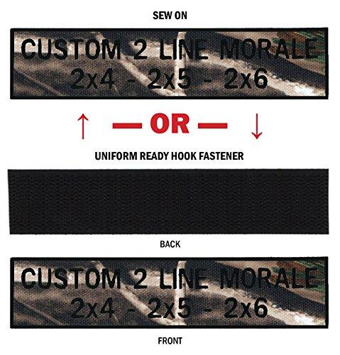 Custom 2 Line Moral Name Tapes With Border, ¡más De 30 Telas Para Elegir! ¡¡hecho En Ee.uu!! ¡naves Bajo 24 Horas! Árbol Real