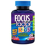 Focus Factor for Kids Complete Vitamins: Multivitamin & Neuro Nutrients (Brain Function), Vitamin B12, C, D3, 150 Count, 75 DAY SUPPLY