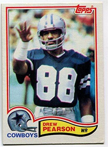 - 1982 Topps Drew Pearson Card #321 Dallas Cowboys Tulsa