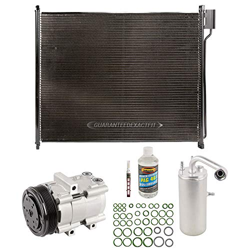 - A/C Kit w/AC Compressor Condenser Drier For Ford F250 F350 Super Duty Gas V8 - BuyAutoParts 60-89447CK New