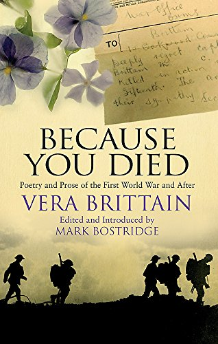 Because You Died: Poetry and Prose of the First World and Beyond (Best Friend Died Poem)