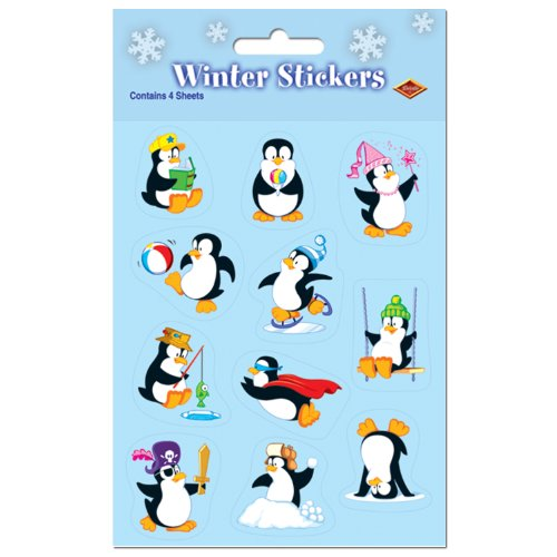 Penguin Stickers -