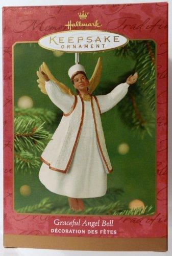 Graceful Angel Bell Hallmark Ornament