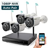 Wireless Security Camera System Outdoor,...