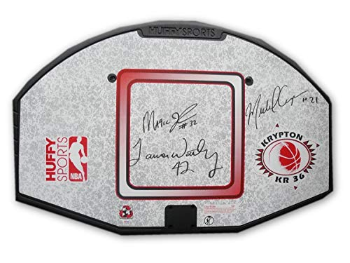 Magic Johnson James Worthy Michael Cooper Autographed Signed Full Size Nba Backboard Memorabilia PSA/DNA