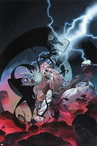 Thor: God of Thunder #10 Cover: Odin, Gorr Poster by Esad Ribic