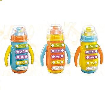 ShireyStore Instrumentos Musicales de Juguete Golpe de la Mano de la Botella de los niños en