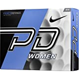 Nike Golf Women's PD9 White Golf Balls (12 Pack)