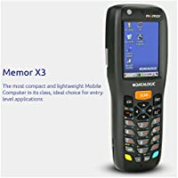 Datalogic Scanning 944250004 Memor X3 Mobile Computer, 802.11 a/b/g/n CCX V4, Windows CE Pro 6.0, 25-Key Numeric, Laser with Green Spot