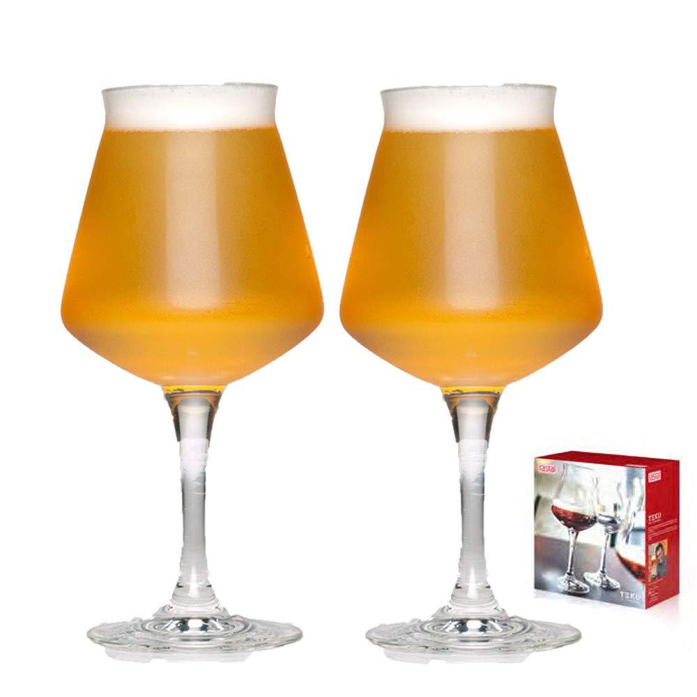 Rastal Teku Lot de 2 verres universels pour d/égustation de bi/ère artisanale 42,5 cl