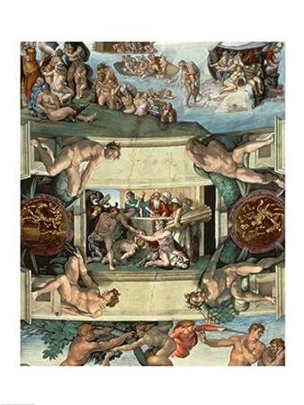 Amazon Com Sistine Chapel Ceiling 1508 12 The Sacrifice