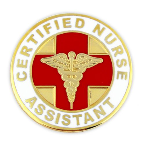 PinMart's Certified Nurse Assistant CNA Lapel Pin by PinMart